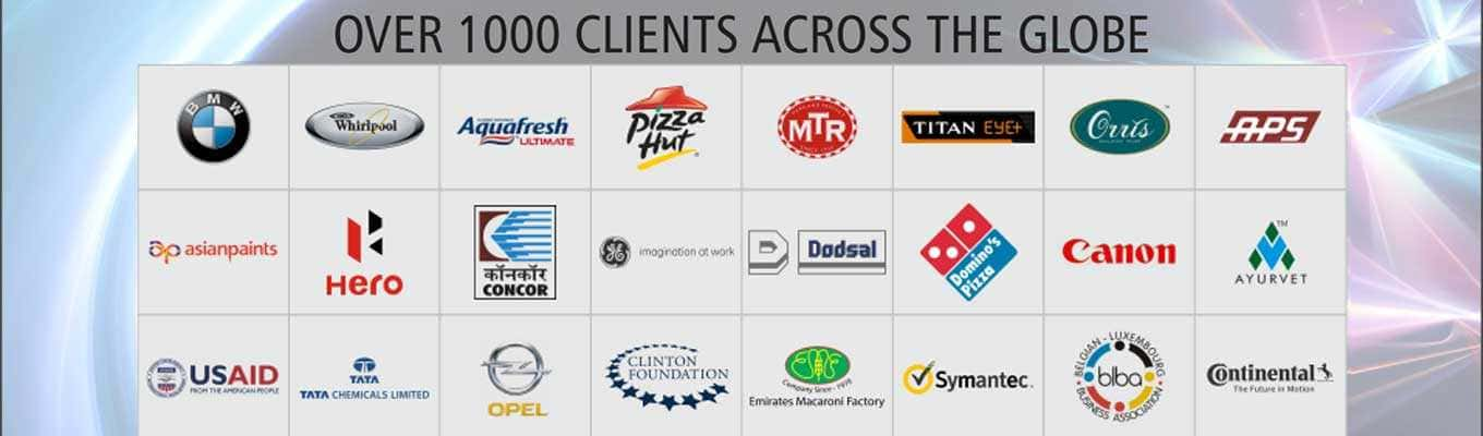 Over 1000 Clients