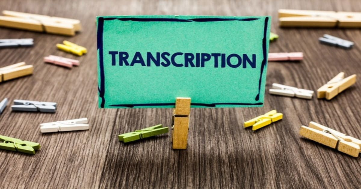 Need for Transcription Services in India
